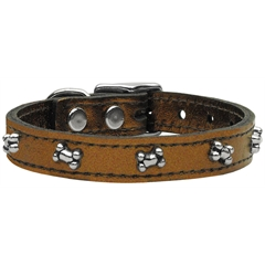 Mirage Pet Products Metallic Bone Leather  Bronze 20