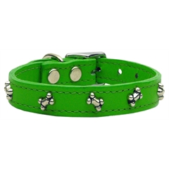 Mirage Pet Products Bone Leather Emerald Green 16