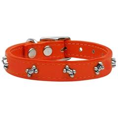 Mirage Pet Products Bone Leather Orange 14