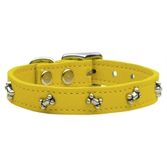 Mirage Pet Products Bone Leather Yellow 18