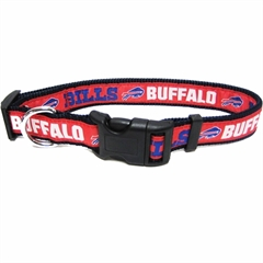 Mirage Pet Products Buffalo Bills Collar Large