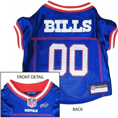 Mirage Pet Products Buffalo Bills Jersey Medium