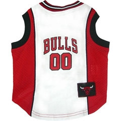 Mirage Pet Products Chicago Bulls Jersey Medium