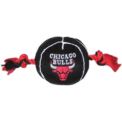 Mirage Pet Products Chicago Bulls Ball Toy