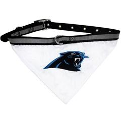 Mirage Pet Products Carolina Panthers Bandana Large