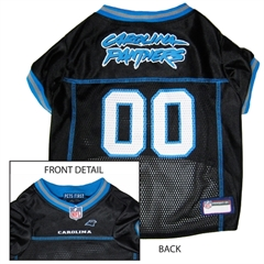 Mirage Pet Products Carolina Panthers Jersey Medium