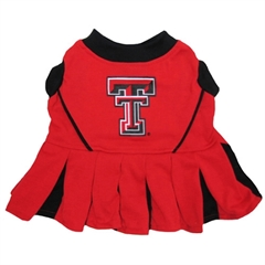 Mirage Pet Products Texas Tech Cheer Leading XS