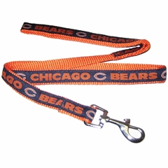 Mirage Pet Products Chicago Bears Leash Medium