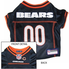 Mirage Pet Products Chicago Bears Jersey Small