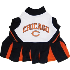 Mirage Pet Products Chicago Bears Cheer Leading SM