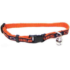Mirage Pet Products Chicago Bears Cat Collar