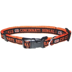 Mirage Pet Products Cincinnati Bengals Collar Medium