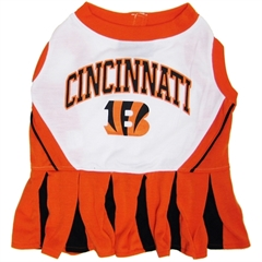 Mirage Pet Products Cincinnati Bengals Cheer Leading MD