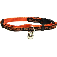 Mirage Pet Products Cincinnati Bengals Cat Collar