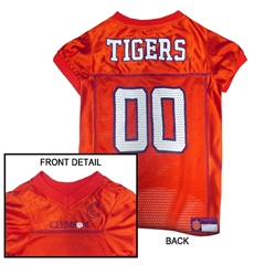 Mirage Pet Products Clemson Tigers Jersey Large