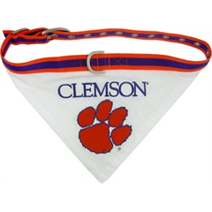 Mirage Pet Products Clemson Tigers Bandana Medium