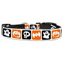 Mirage Pet Products Classic Halloween Nylon Ribbon Collar Large