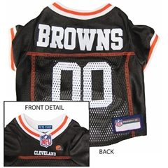 Mirage Pet Products Cleveland Browns Jersey Medium