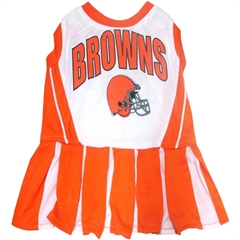 Mirage Pet Products Cleveland Browns Cheer Leading SM