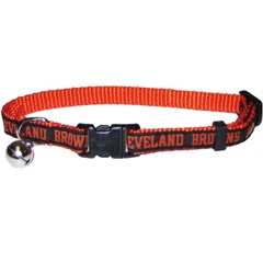 Mirage Pet Products Cleveland Browns Cat Collar
