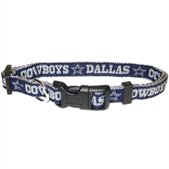 Mirage Pet Products Dallas Cowboys Collar Large