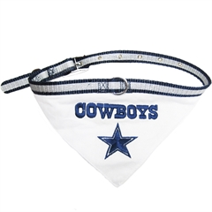 Mirage Pet Products Dallas Cowboys Bandana Small