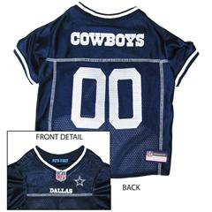 Mirage Pet Products Dallas Cowboys Jersey Medium