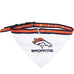 Mirage Pet Products Denver Broncos Bandana Medium