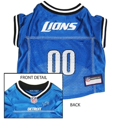 Mirage Pet Products Detroit Lions Jersey Small