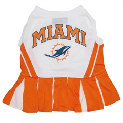 Mirage Pet Products Miami Dolphins Cheer Leading MD