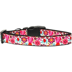 Mirage Pet Products Elephant Elefun Nylon Ribbon Collars Medium