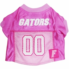 Mirage Pet Products Florida Gators Pink Jersey MD