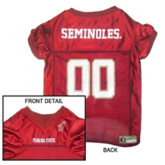 Mirage Pet Products Florida State Seminoles Jersey Small