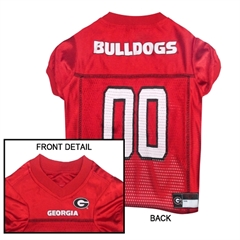 Mirage Pet Products Georgia Bulldogs Jersey Large