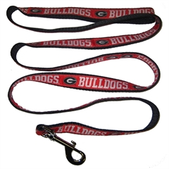 Mirage Pet Products Georgia Bulldogs Leash Medium