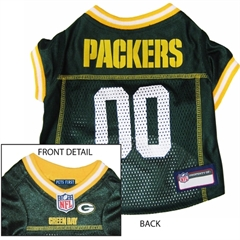 Mirage Pet Products Green Bay Packers Jersey Large