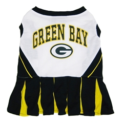 Mirage Pet Products Green Bay Packers Cheer Leading MD