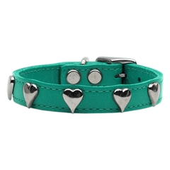 Mirage Pet Products Heart Leather Jade 10