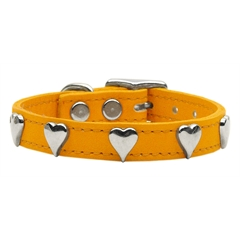 Mirage Pet Products Heart Leather Mandarin 24