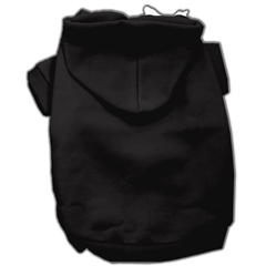 Mirage Pet Products Blank Hoodies Black XS (8)
