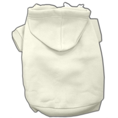 Mirage Pet Products Blank Hoodies Cream XS (8)