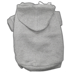 Mirage Pet Products Blank Hoodies Grey S (10)