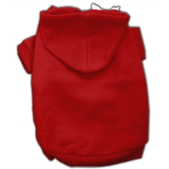 Mirage Pet Products Blank Hoodies Red XXXL(20)