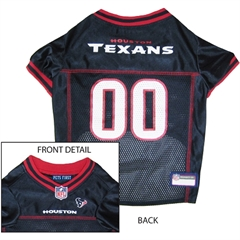 Mirage Pet Products Houston Texans Jersey Large