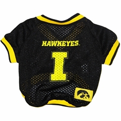 Mirage Pet Products Iowa Hawkeye Jersey XS
