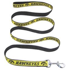 Mirage Pet Products Iowa Hawkeye Leash Medium