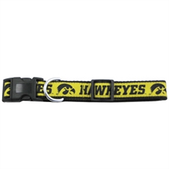 Mirage Pet Products Iowa Hawkeye Collar Large