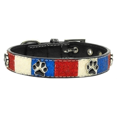 Mirage Pet Products Patriotic Ice Cream Collars Paws Medium