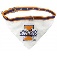 Mirage Pet Products Illinois Fighting Illini Bandana Medium