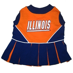 Mirage Pet Products Illinois Fighting Illini Cheer Leading MD